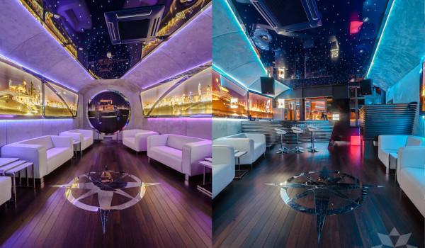 Loża VIP zmienne oświetlenie led RGB Vanity Sopot