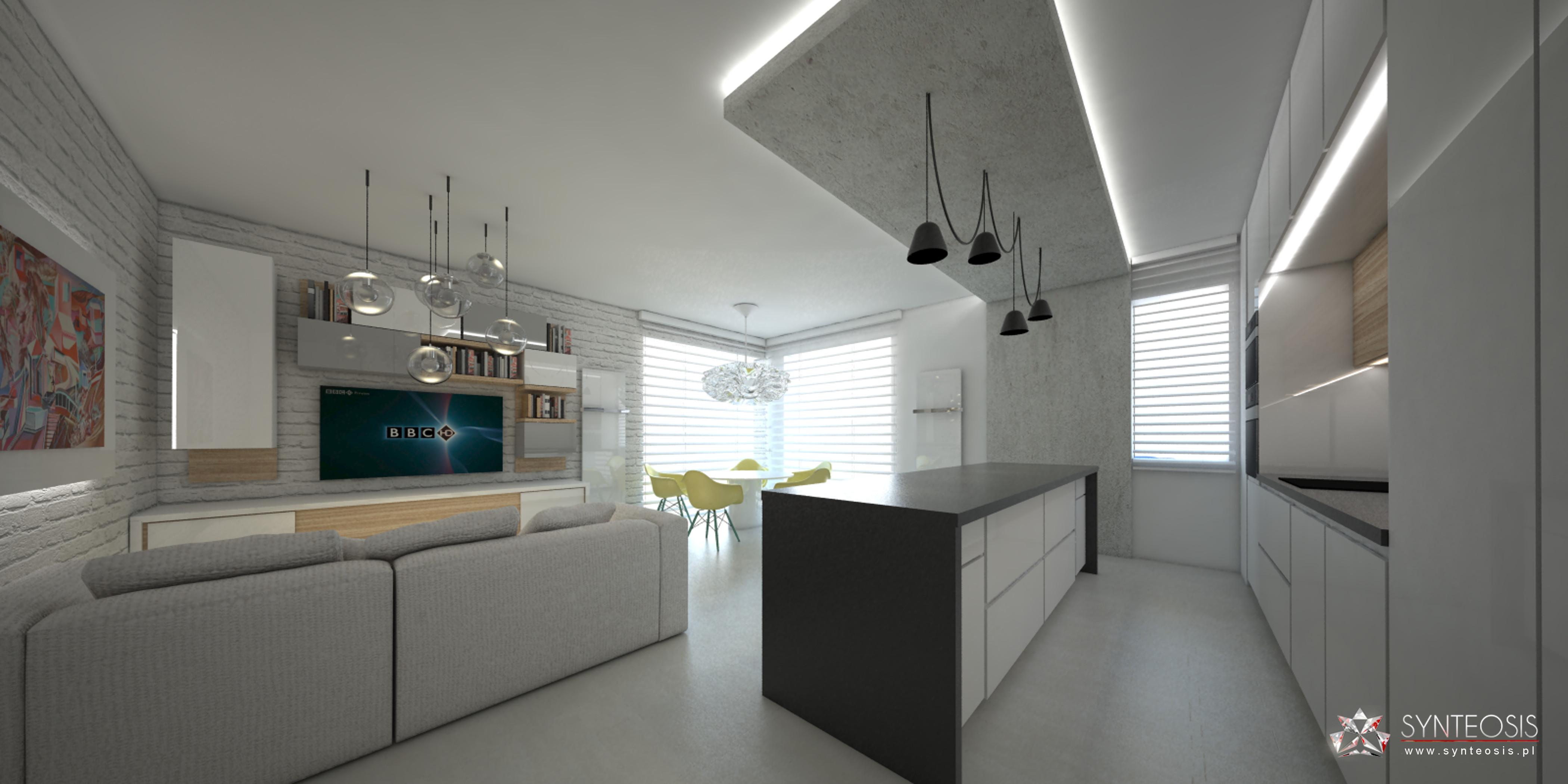 Aranżacja wnętrz apartamentu w warszawie