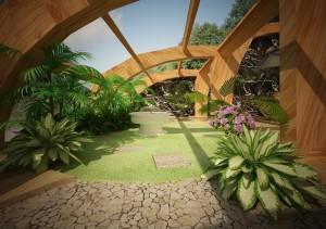Basen-i-Spa-przy-domu-prywatnym-widok-na-ogród
