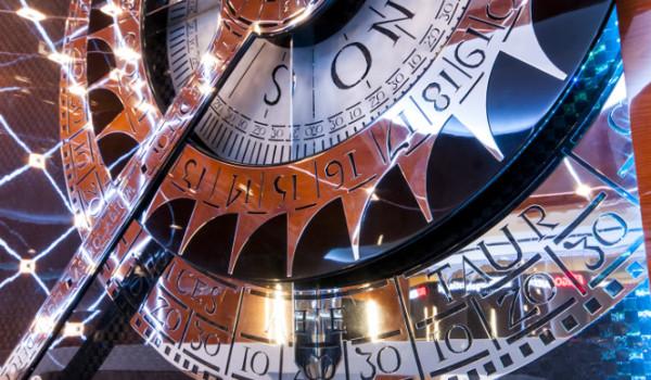 Astrolabium- element ozdobny ze stali nierdzewnej