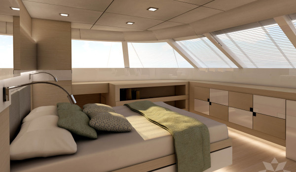 Jacht żaglowy 80stóp kabina właściciela 2a