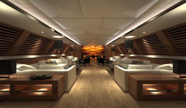 Mega Jacht salon 3