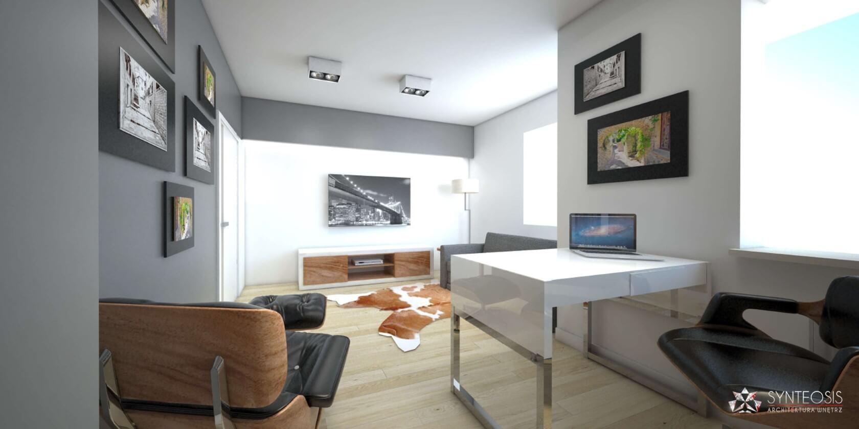 Aranżacja wnętrz apartamentu w Wejherowie